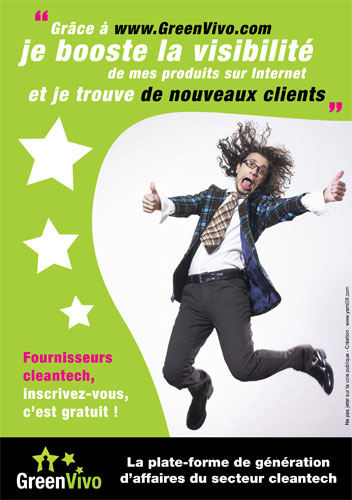 GreenVivo et ses campagnes Content-to-Business